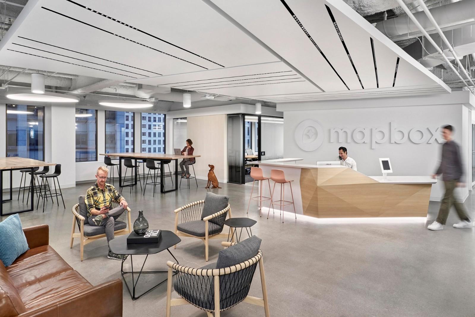 开放与优雅,旧金山Mapbox办公空间 | Revel Architecture & Design插图2